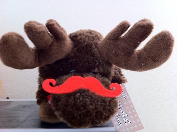 3D Printed Mustache