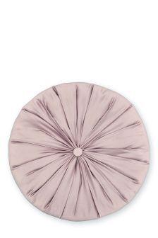 Dusky Pink Round Cushion