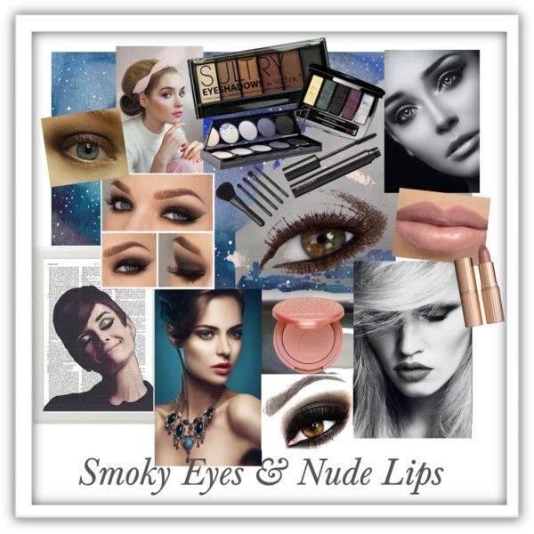 Smoky Eyes and Nude Lips by giovanina-001 on Polyvore featuring beauty, Witchery, tarte, Avon, Boohoo, Charlotte Tilbury, Chanel and Industrie