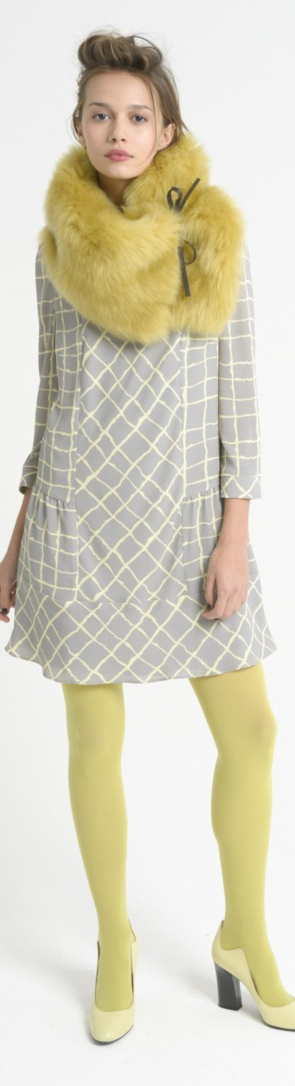 Emporio Armani Pre Fall 2016 women fashion outfit clothing style apparel @roressclothes closet ideas