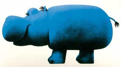 1966-67 Armando Testa Pippo per la Lines utilizzato per gli spot pubblicitari di Carosello