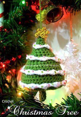 Рождественская елочка. Описание на русском.