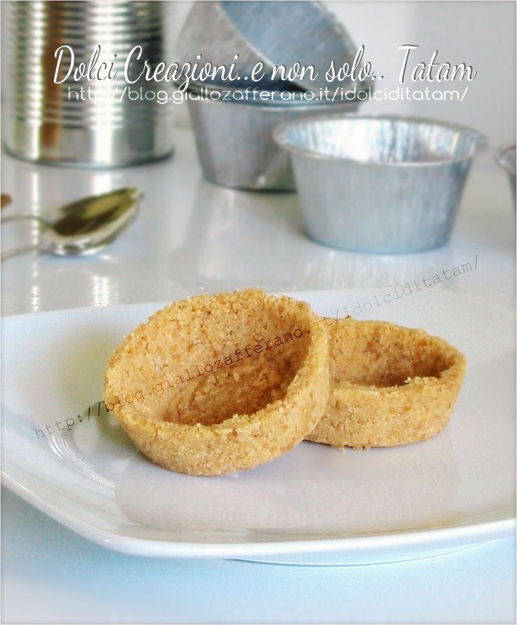 Gusci di biscotto per tartellette | basi per dolcetti da farcire