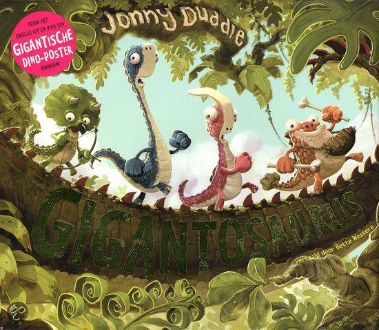 Fantastisch boek! onze zoon is er helemaal weg van! Gigantosaurus