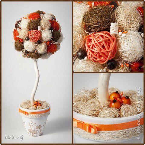 Работы из сизалевых шариков. Вдохновитель - Мария Шарафеева. Огромное спасибо фото 7