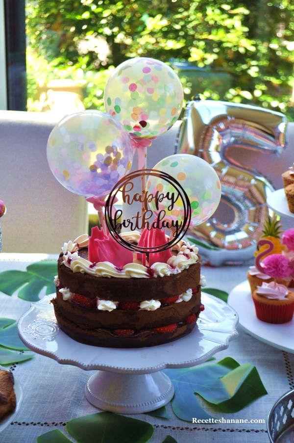 Gateau D Anniversaire Sweet Table Recettes By Hanane Gateau Anniversaire Gateau Recette By Hanane