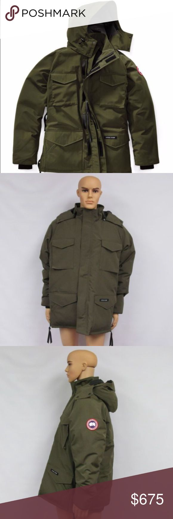 Authentic MENS Canada Goose Parka size L Authentic Canada Goose Constable Parka in Military Green, size LARGE. In pristine like new condition! $550 on  Canada Goose Jackets  Coats