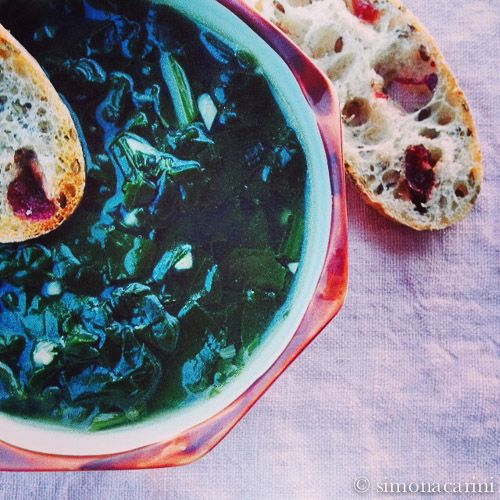 Recipe: spinach soup / Ricetta: zuppa di spinaci — I like Il Cairo, Egypt