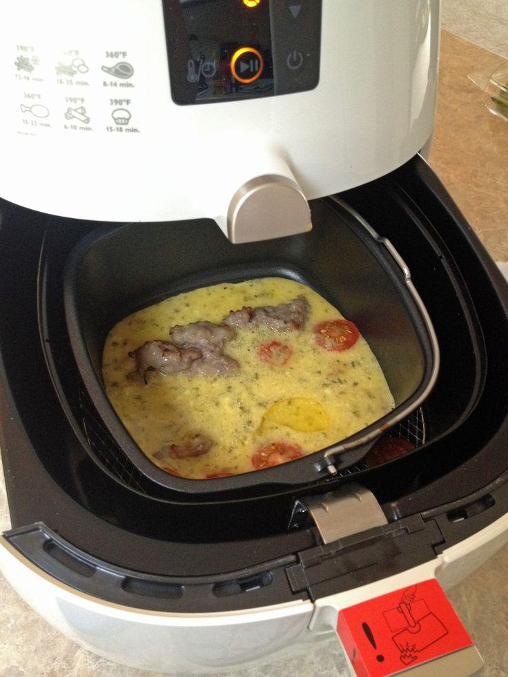 Breakfast Frittata Recipe Air Fryer Recipes Cooks Air Fryer Air Fryer Oven Recipes