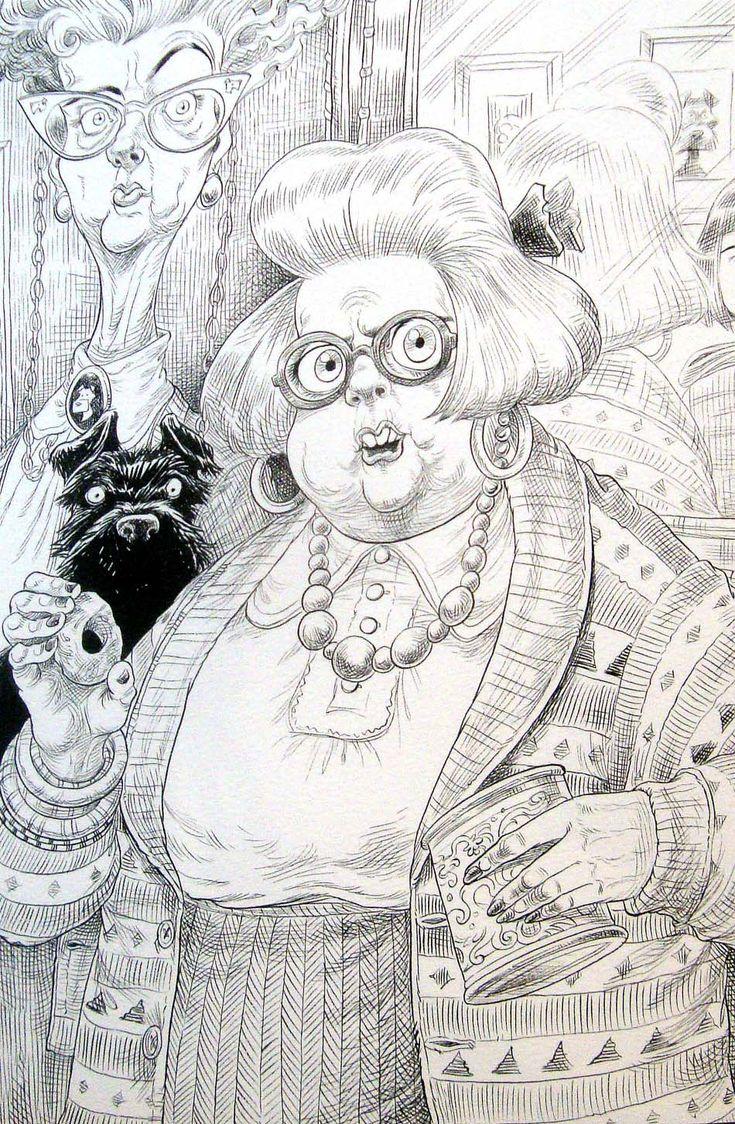 Chris Riddell - The Illustration Cupboard