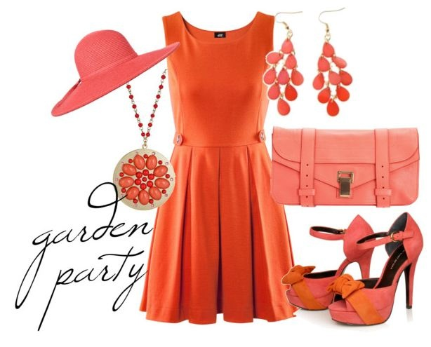 Orange and Pink outfit | how i want to dress