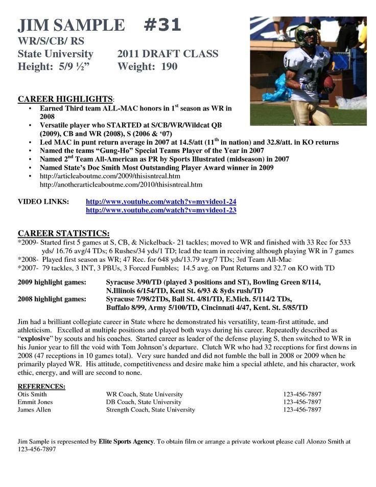 Hockey Player Resume Template Best Of Football Resume Insrenterprises Socalbrowncoats Soccer Coaching Soccer Players Resume Template