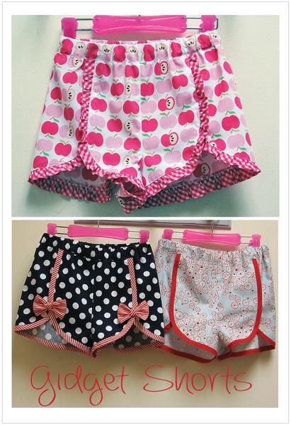 90071dfc9dd Best girls shorts pattern Gidget Shorts by Felicity Patterns ...