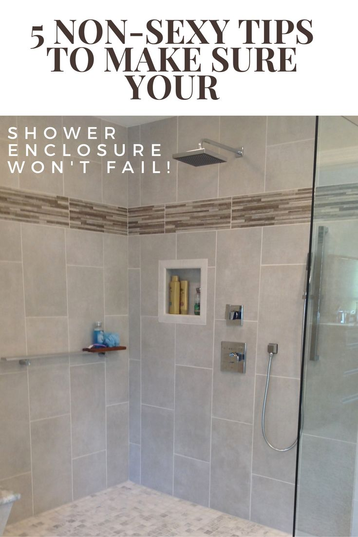5 trendy ideas for your bathroom remodeling project - 5 Non Sexy Tips To Make Sure Your Shower Enclosure Won T Fail