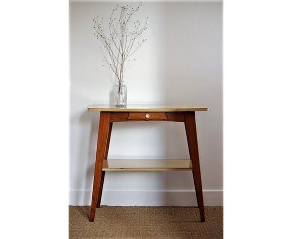 Table d\u0027appoint pieds compas Boutique Little Brocante Pinterest