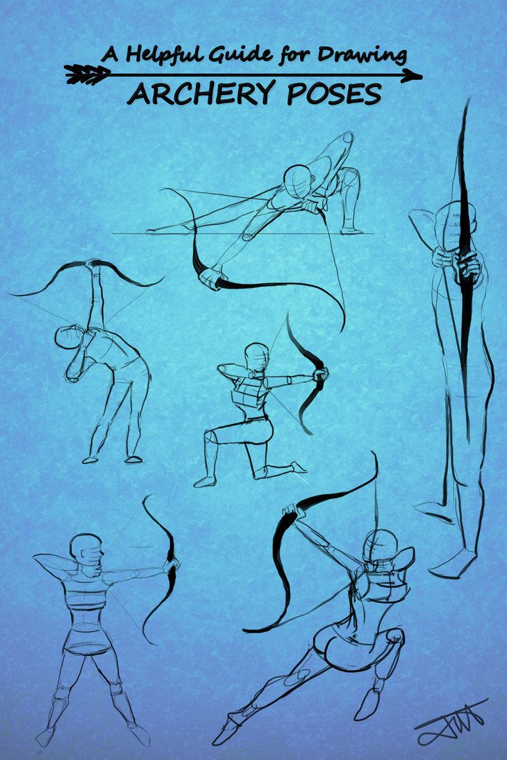 Archery Poses by JessKristen on DeviantArt