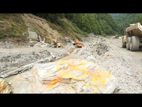 Gorges de l'Arly : le grand chantier