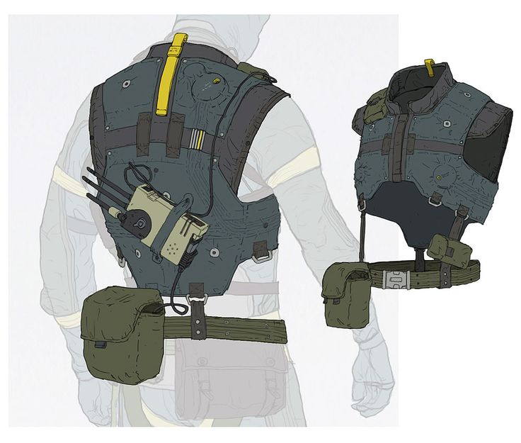 Vest Attachments from Metal Gear Online