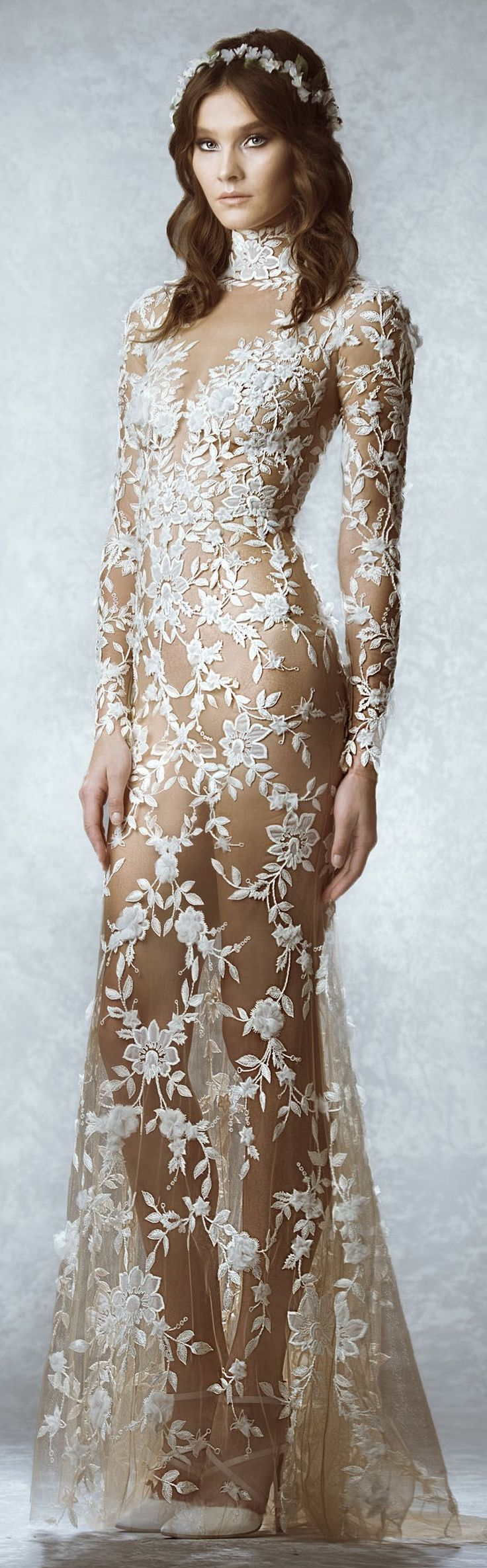 zuhair murad fall winter 2015 bridal kleider pinterest beautiful the bride and brides. Black Bedroom Furniture Sets. Home Design Ideas