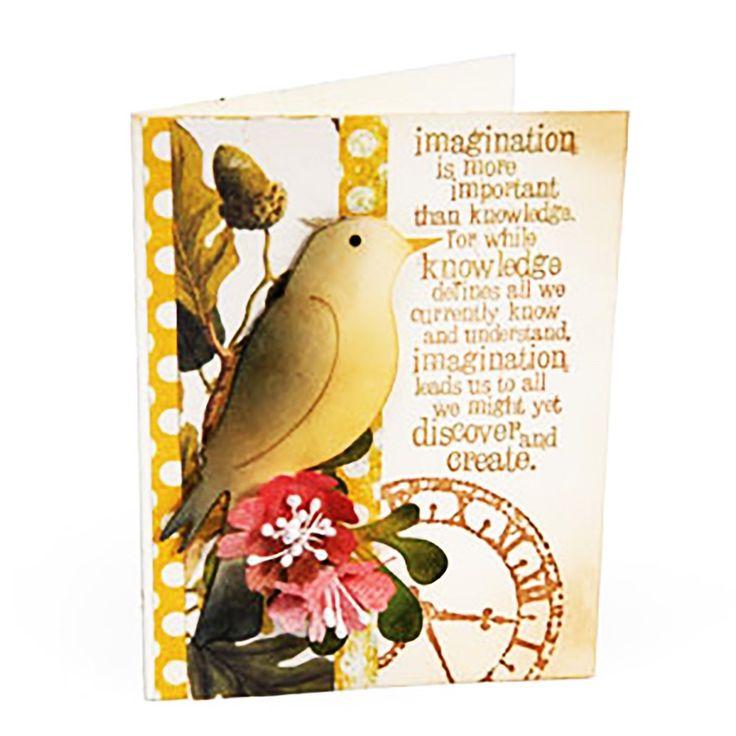 Sizzix Bigz Uccelli Die 656.551 al dettaglio $ 19 99 Tagli tessuto 2 splendidi uccelli | eBay