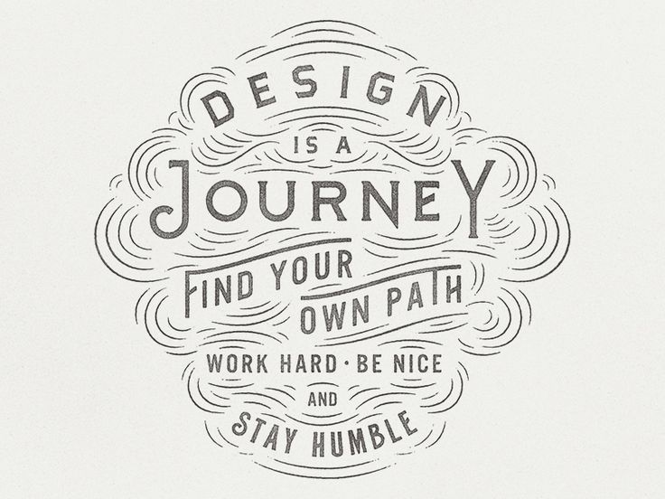 Design is a Journey by Zachary Smith