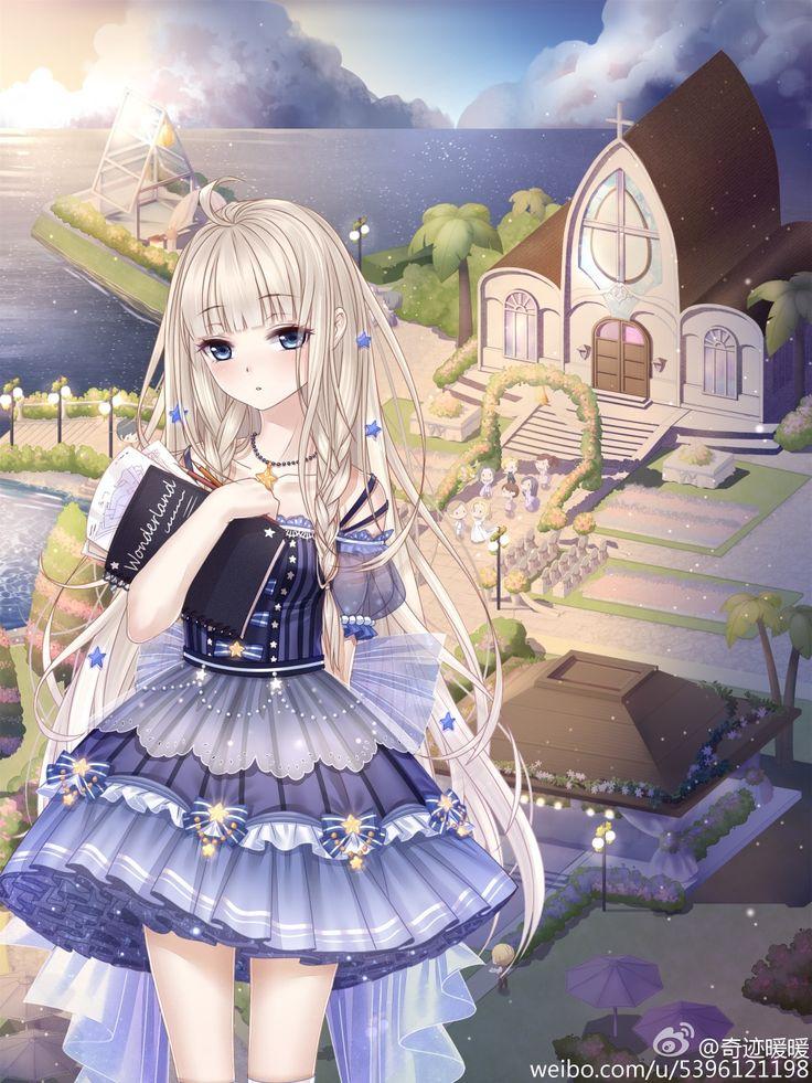 Anime beautiful girl ♡.♡