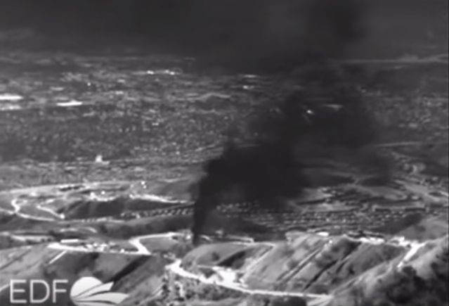 So there is an enormous gas leak at the Southern California Gas Company's Aliso Canyon storage site near the San Fernando Valley community of Porter Ranch that has gone...