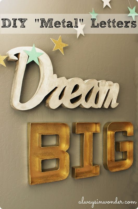 60 best Deco Letters images on Pinterest Home Marquee letters