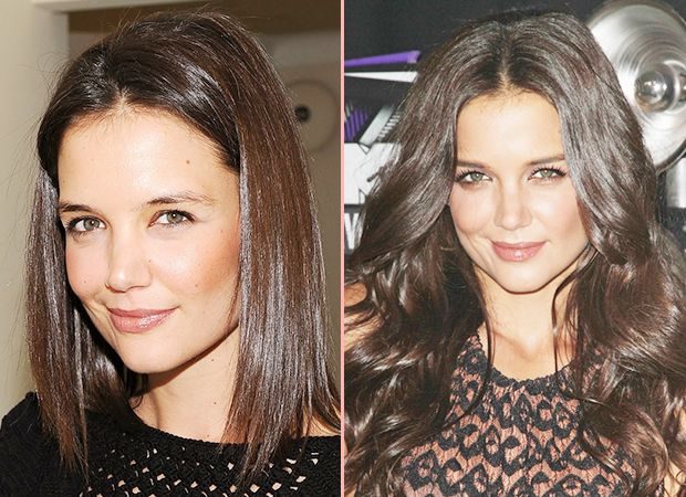 278 best before after hair extensions images on pinterest hair katie holmes before after hair extensions pmusecretfo Image collections