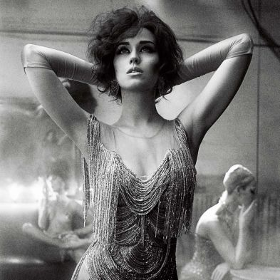 1920s Katy Perry in Interview Magazine. Marchesa dress