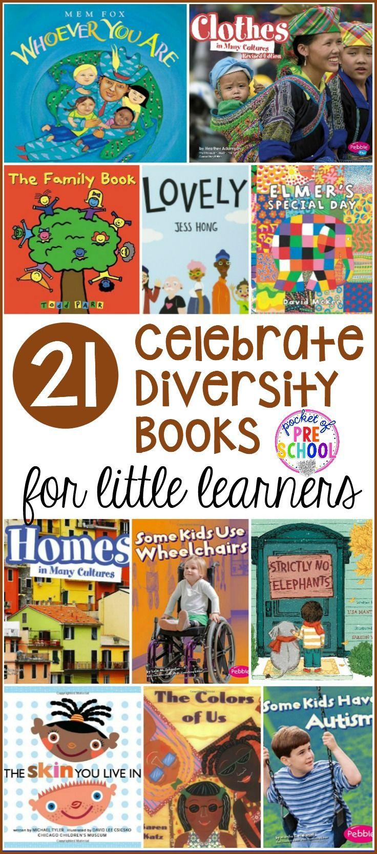 Celebrate Diversity Book List For Preschool And Kindergarten