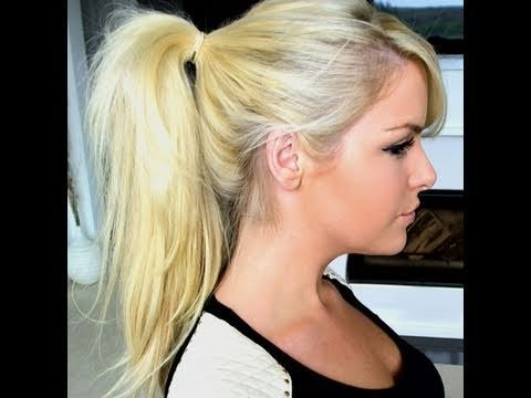 Video is for the Strawberry/Blonde Hair Extensions.  How To: High Ponytail Using Clip In Hair Extensions