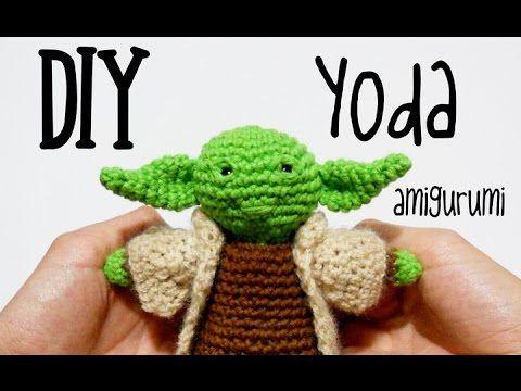 Tutorial amigurumi (crochet, ganchillo) de Yoda de Star Wars