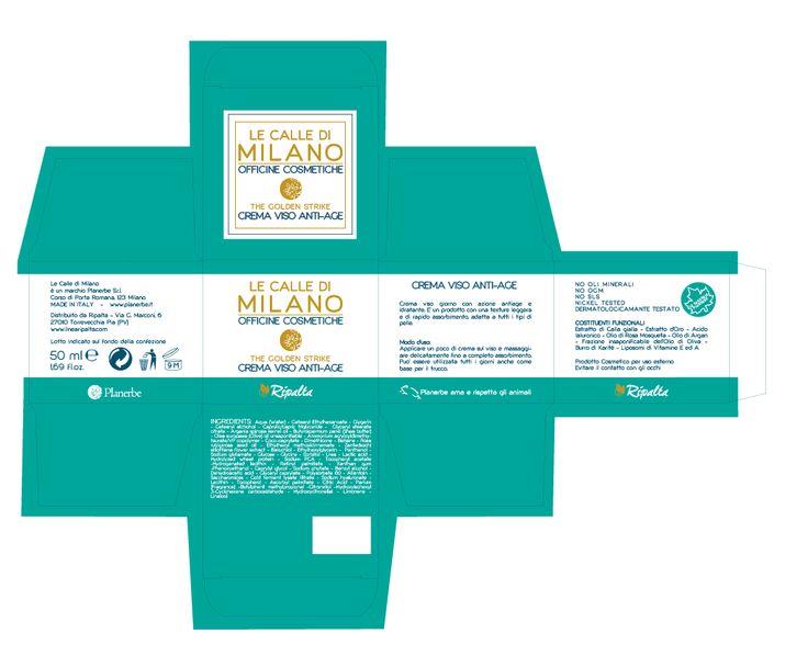 #Packaging Le Calle di Milano Crema Viso