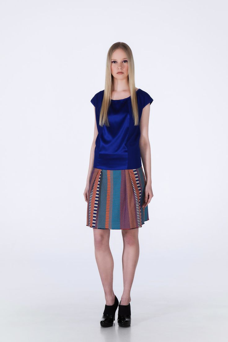 Otherside Top Boxy Skirt