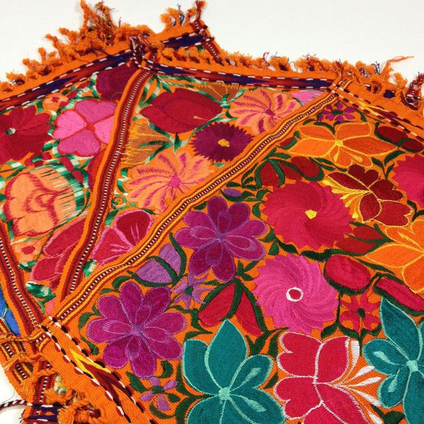 Vibrant Machine Embroidered Placemats