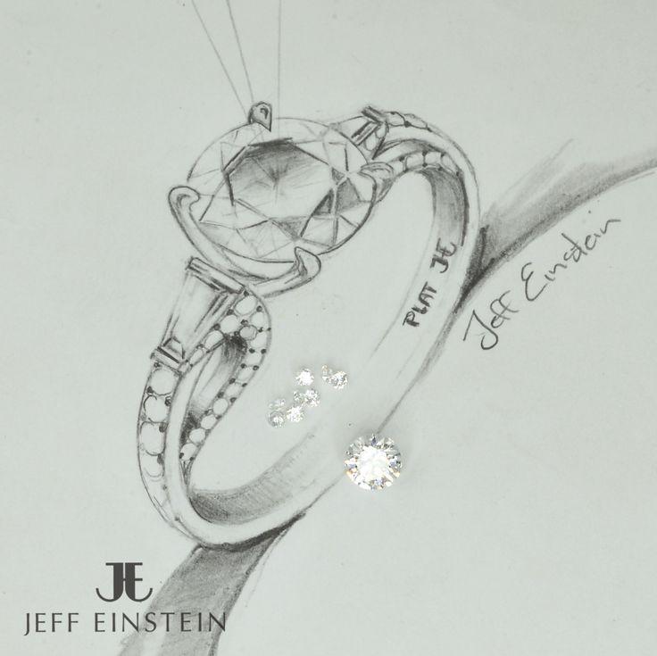 We specialise and love designing and making all types of custom jewellery pieces. #jeffeinsteinjewellery #doublebay #sydney #handmadejewelry #jewellery #weddinginspiration #engagementring #engaged #diamond #diamonds #diamondring #jewelry