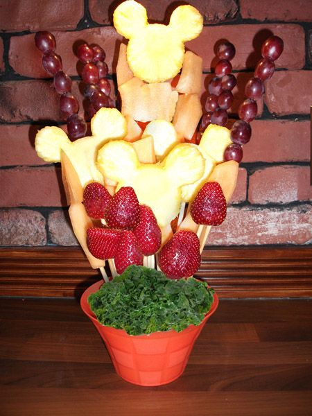 Christmas Fruit Arrangements