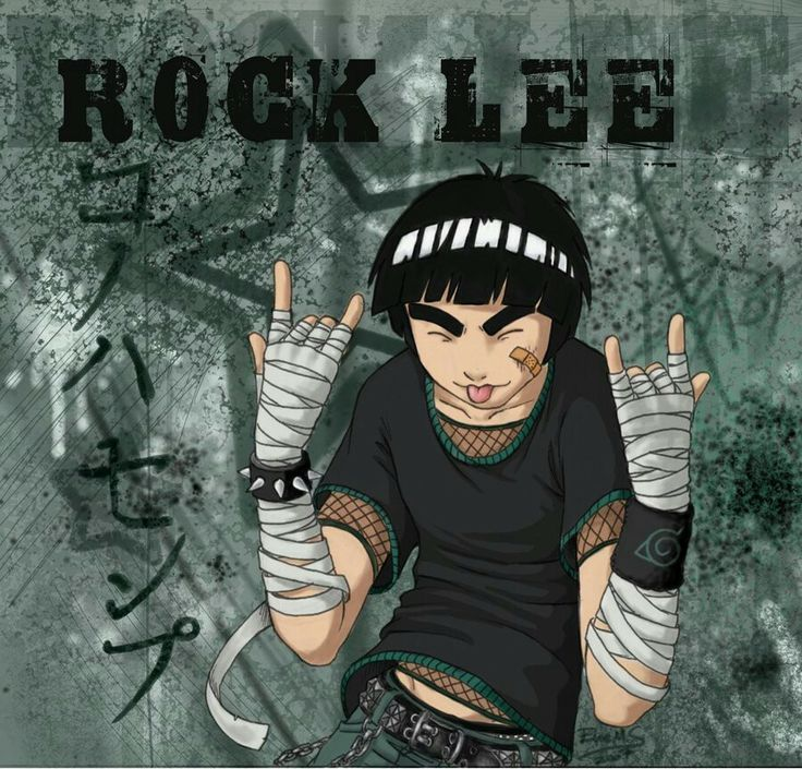 199 Best Images About Rock Lee On Pinterest