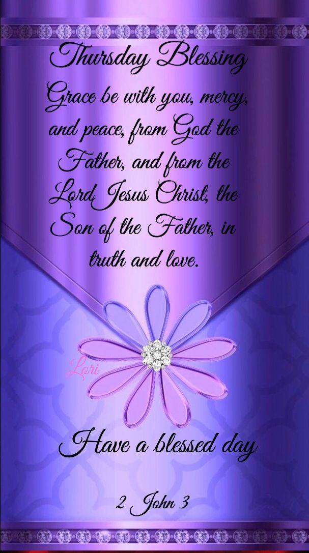 Thursday Blessings | Good morning prayer, Thursday prayer
