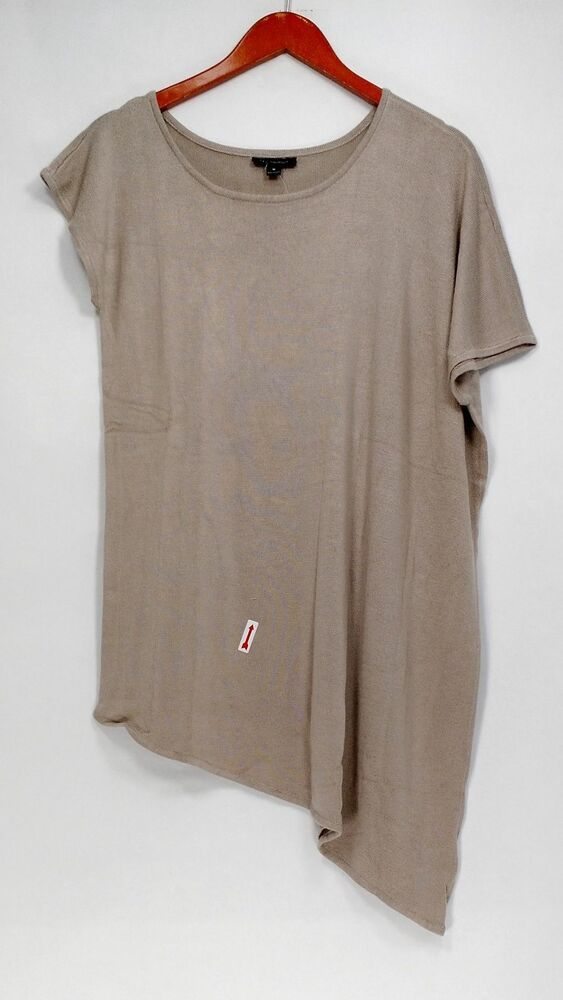 (Advertisement)eBay- H by Halston Sweater Sz M Asymmetrical Pullover w/ Short Sl…