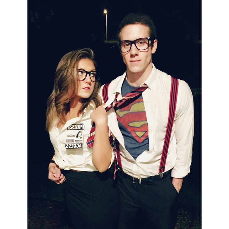 Clark Kent and Lois Lane, so cute!!