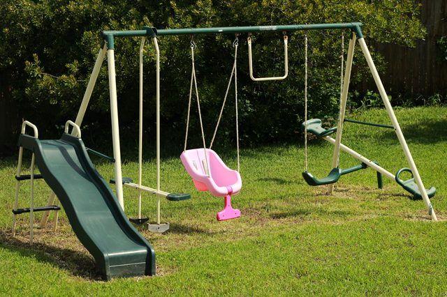 How to Polish a Plastic Playground Slide