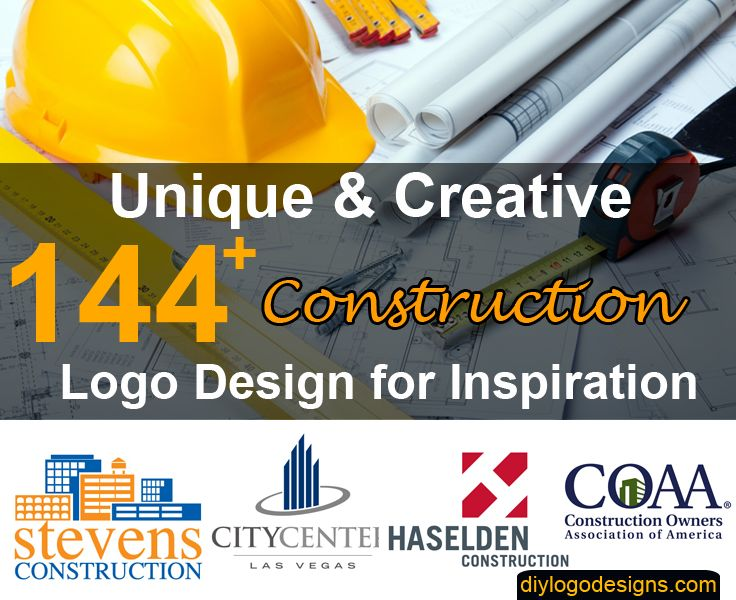 144+ Best Construction Company Logo Design Samples  #ConstructionLogo #Logo #LogoDesign