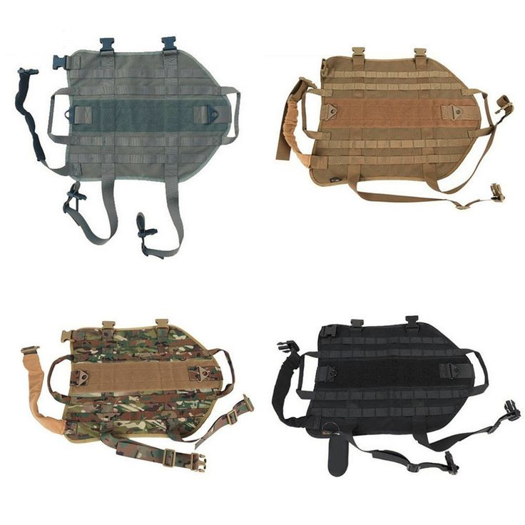 Big Sale! Tactical Outdoor Military Hunting Dog Clothes Load Bearing Training Vest Harness 5 Sizes XS-XL for Small Dogs Big Dogs #>=#>=#>=#>=#> Click on the pin to check out discount price, color, size, shipping, etc. Save and like it!