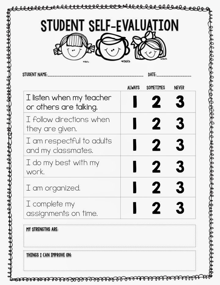 25+ best ideas about Behavior reflection sheet on ...