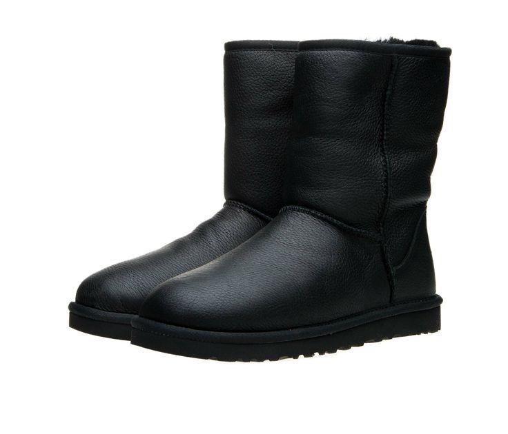 Мужские кожаные сапоги UGG Australia M Classic Short Leather на овчине! 2 999 грн