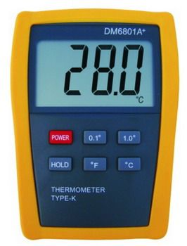 Thermometer DM6801A+ - Digital Meter Indonesia