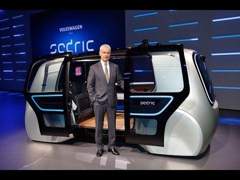 Delightful Meet Sedric: The First Concept Car Of The Volkswagen Group. Es Eléctrico Y  Además