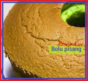 Resep kue bolu pisang ini cocok bagnet untuk sajian bersama keluarga dan orang terdekat pada momen spesial. Boleh juga untuk sajian lebran nanti. Berikut cara membuat masakan ini